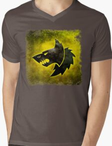 Wolf Icon Mens V-Neck T-Shirt