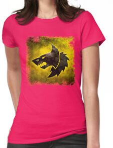 Wolf Icon Womens Fitted T-Shirt