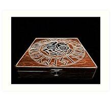 Rune Magic Art Print