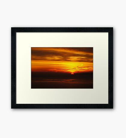 Over the Brigg Framed Print