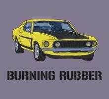 Burning Rubber Kids Tee