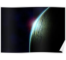 Sunrise on a New World Poster