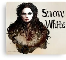 Snow White OUAT Canvas Print