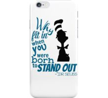 Dr Seuss Quote iPhone Case/Skin