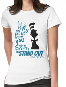 Dr Seuss Quote Womens Fitted T-Shirt