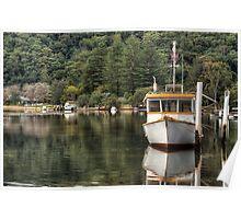 Patonga Creek Trawler Poster
