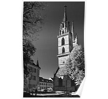 Basel Cathedral Poster