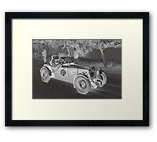 MG TC 1946 Framed Print
