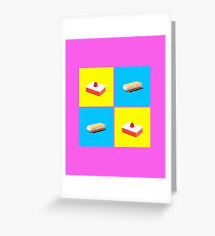 Eat Clean Greeting Card