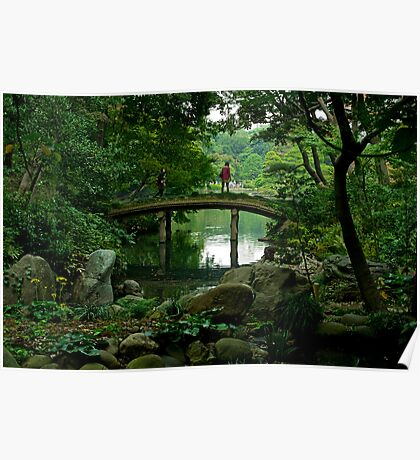 A view of a bridge with a view - Japan Poster
