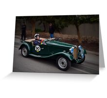 MG TD 1951 Greeting Card