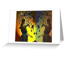 Alice in Wonderland Part 2 Greeting Card