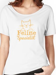 FELINE specialist! Women's Relaxed Fit T-Shirt