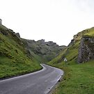 Winnats Pass, Castleton, Derbyshire, England by Tigersoul