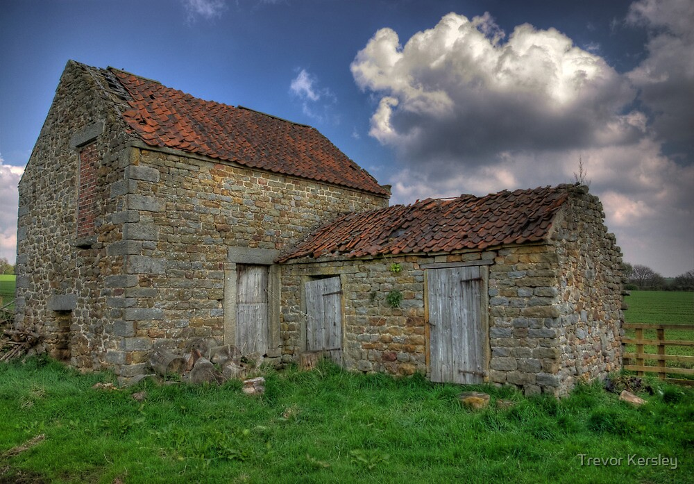 Old Barn - Lastingham by Trevor Kersley