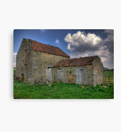 Old Barn - Lastingham Canvas Print