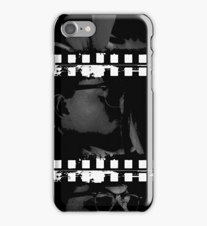 Richie and Kate (kiss b'n'w/white) iPhone Case/Skin