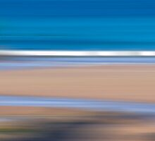 Panning for gold at the beach by dunawori