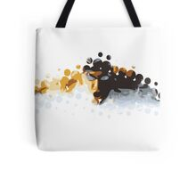2012 Olympics Swimmer Tote Bag