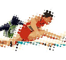 2012 Olympics Hurdles by theartdirectors