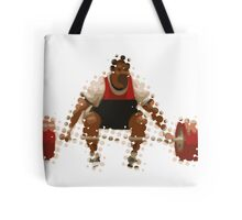 2012 Olympics Weightlifter Tote Bag