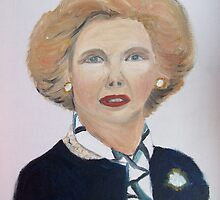 Margaret Thatcher by Monika Howarth