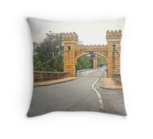 Hampden Bridge - Kangaroo Valley. Throw Pillow