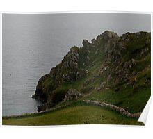 South Devon Coastline East Prawle Poster