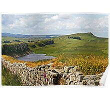 Roman Wall Country Poster