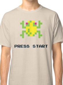 FROGGER RETRO PRESS START ARCADE TSHIRT Classic T-Shirt