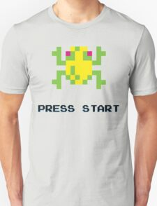 FROGGER RETRO PRESS START ARCADE TSHIRT T-Shirt