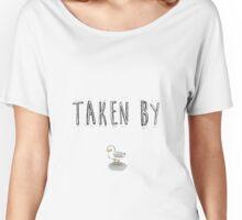 "BTS Bangtan Jungkook ""Taken By Seagull"" Milky Design Women's Relaxed Fit T-Shirt"