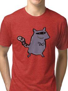 racoon Tri-blend T-Shirt