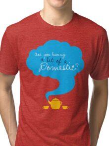 Bit of a Domestic Tri-blend T-Shirt