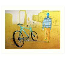 Bicycle Thief, Hot Summer Street Art Print