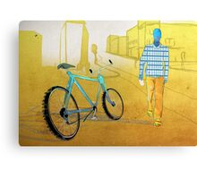 Bicycle Thief, Hot Summer Street Canvas Print