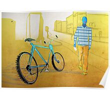 Bicycle Thief, Hot Summer Street Poster