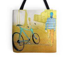 Bicycle Thief, Hot Summer Street Tote Bag