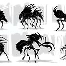 Mutant Insects by dazzamataz