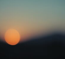when the sun goes to sleep by Caterina Neri