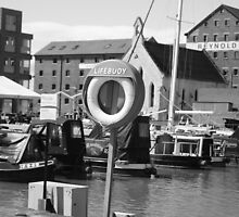 Gloucester Docks by Demelza Snell