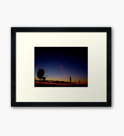Uluru Dusk Framed Print