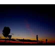 Uluru Dusk Photographic Print