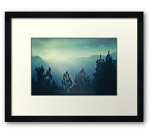waking country Framed Print