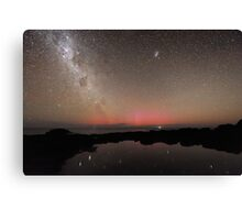 Red Aurora at Flinders Canvas Print