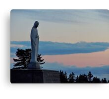 Virgin Mary Statue 2 Canvas Print