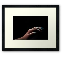 Your Hand Framed Print