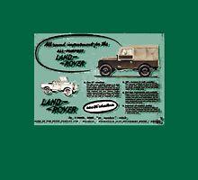All purpose Land Rover Advert - T-shirt etc... Unisex T-Shirt