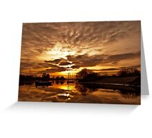 Lima river - Portugal Greeting Card