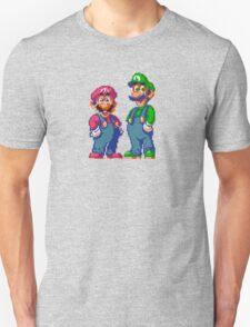 Mario and Luigi Tee T-Shirt